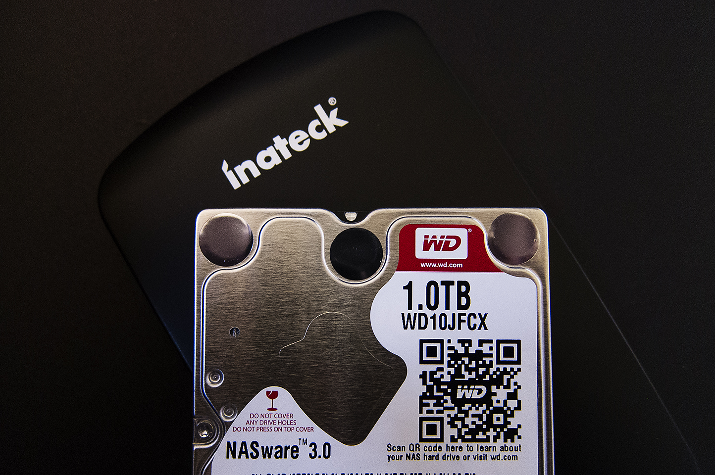WD Red & Inateck