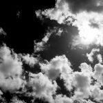 summer sky 160816_mono
