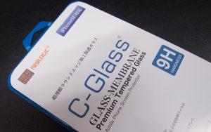 NEWLOGIC C-Glass 0.2 mm 保護ガラス (硬度 9H)