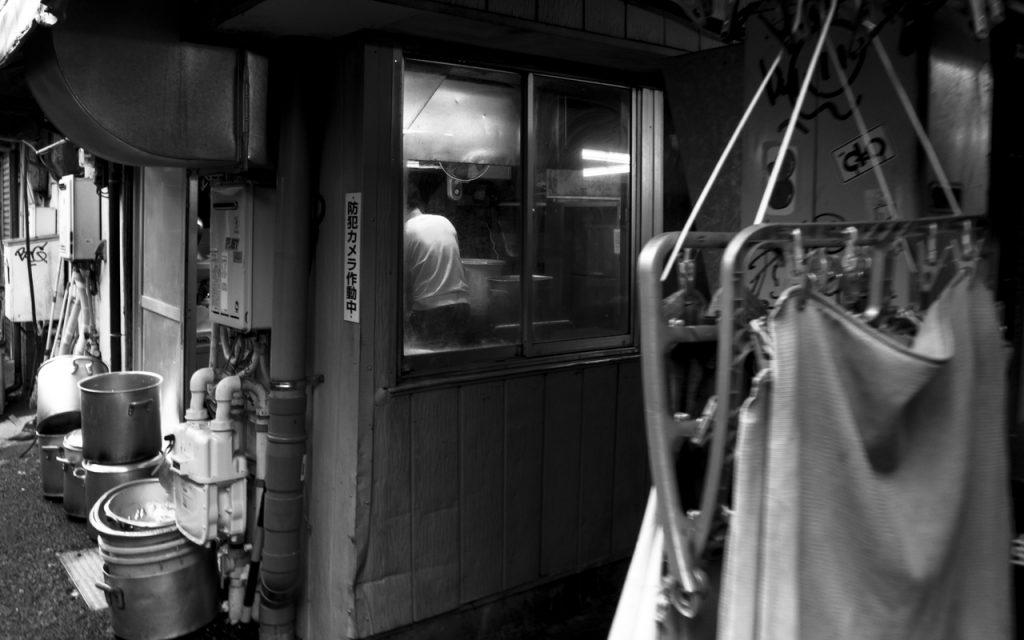 朝 大井町 東小路飲食店街