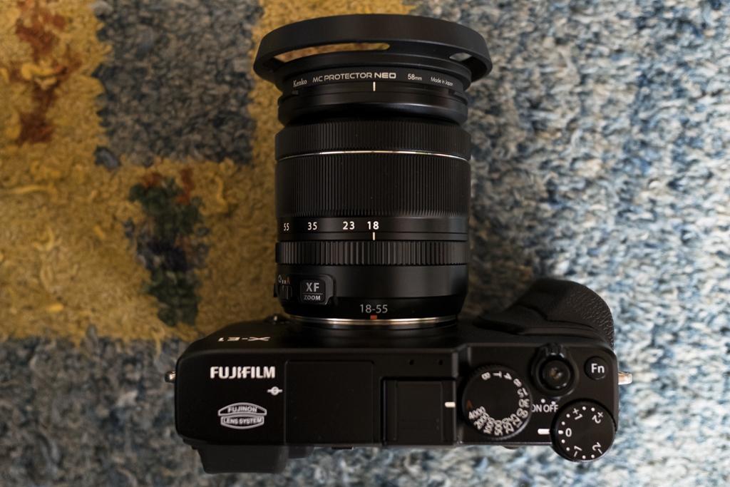 FUJIFILM X-E1+XF18-55mmF2.8-4 R LM OIS