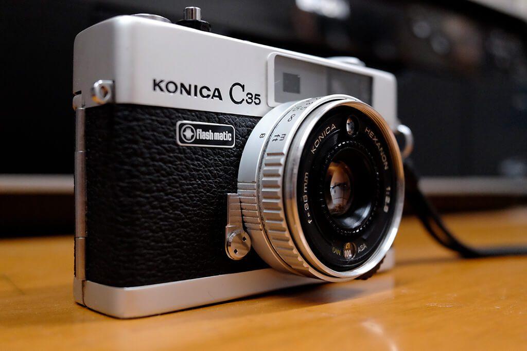 KONICA C35 Flashmatic