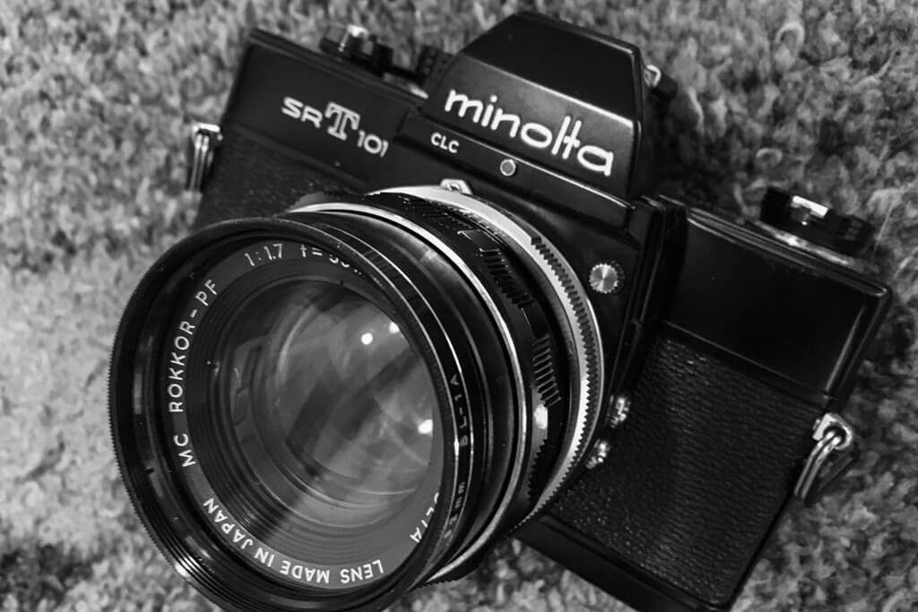 minolta SRT101 + MC ROKKOR-PF 55mm f/1.7