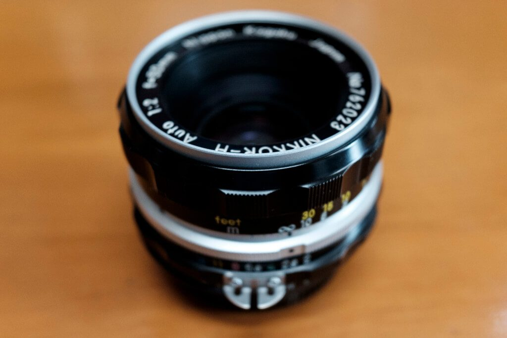 NIKKOR-H Auto 50mm F2 Ai改