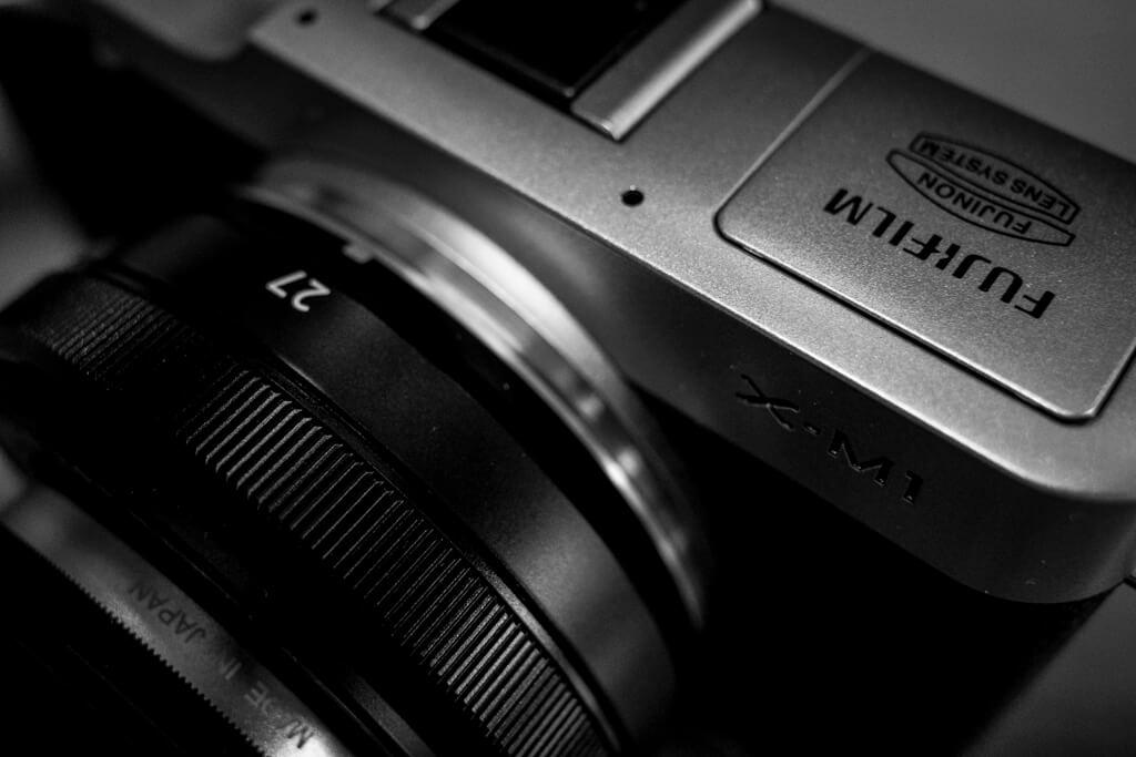 FUJIFILM X-M1, XF27mm f/2.8