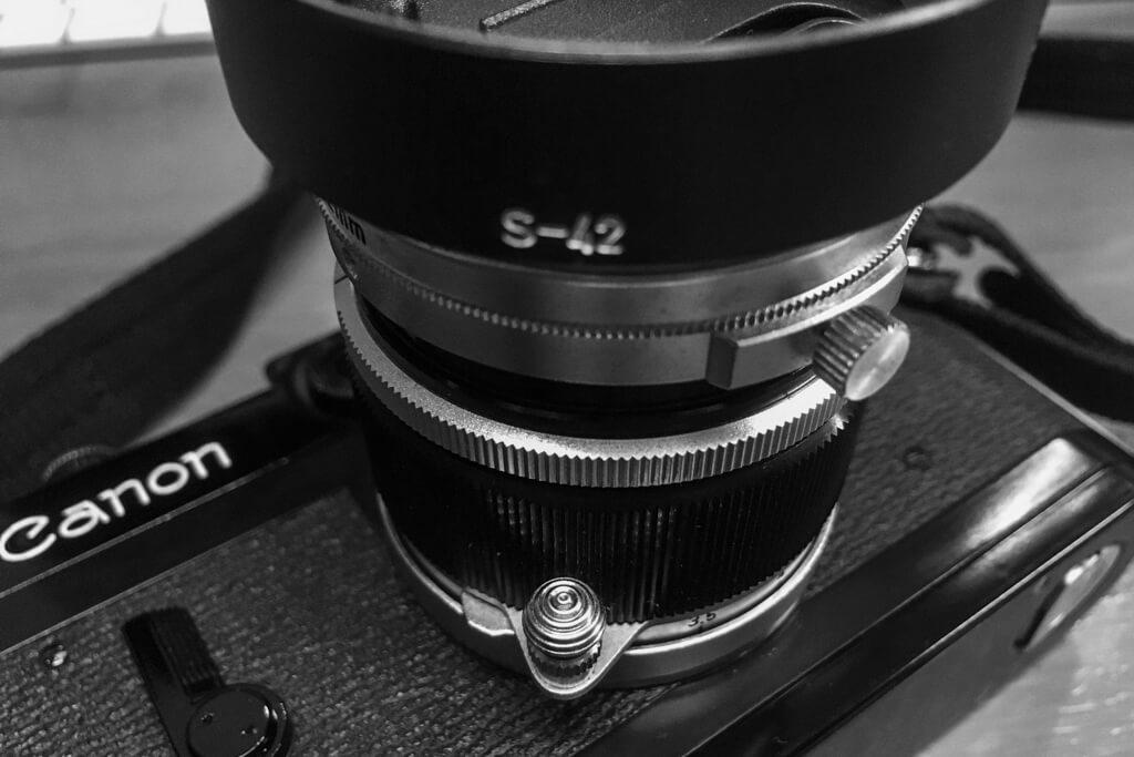 Canon 純正 S-42 フード