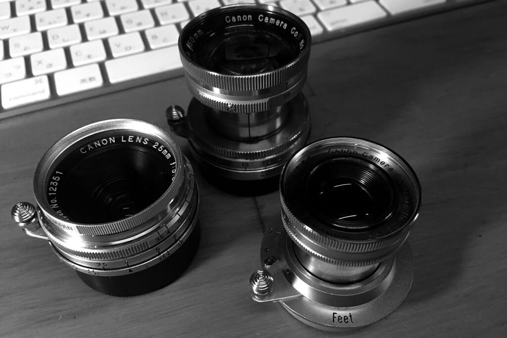 CanonのSレンズ